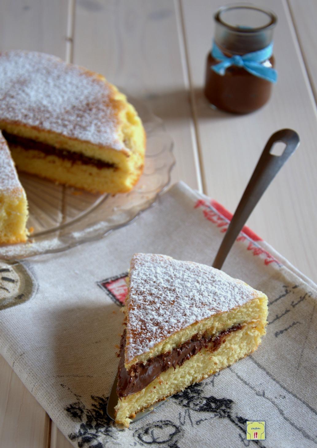 torta versata alla nutella gp