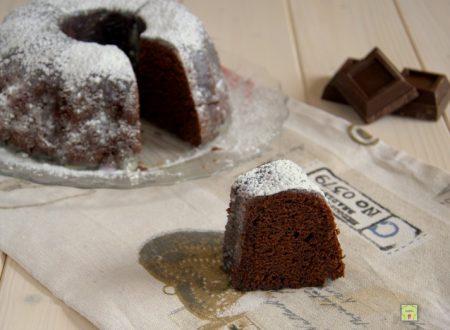 Ciambella cioccolato e ricotta