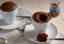Torta in tazza o mug cake alla nutella