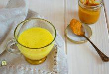Latte d' oro o golden milk