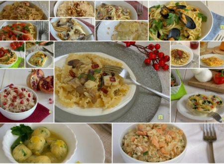 Primi piatti per le feste di Natale
