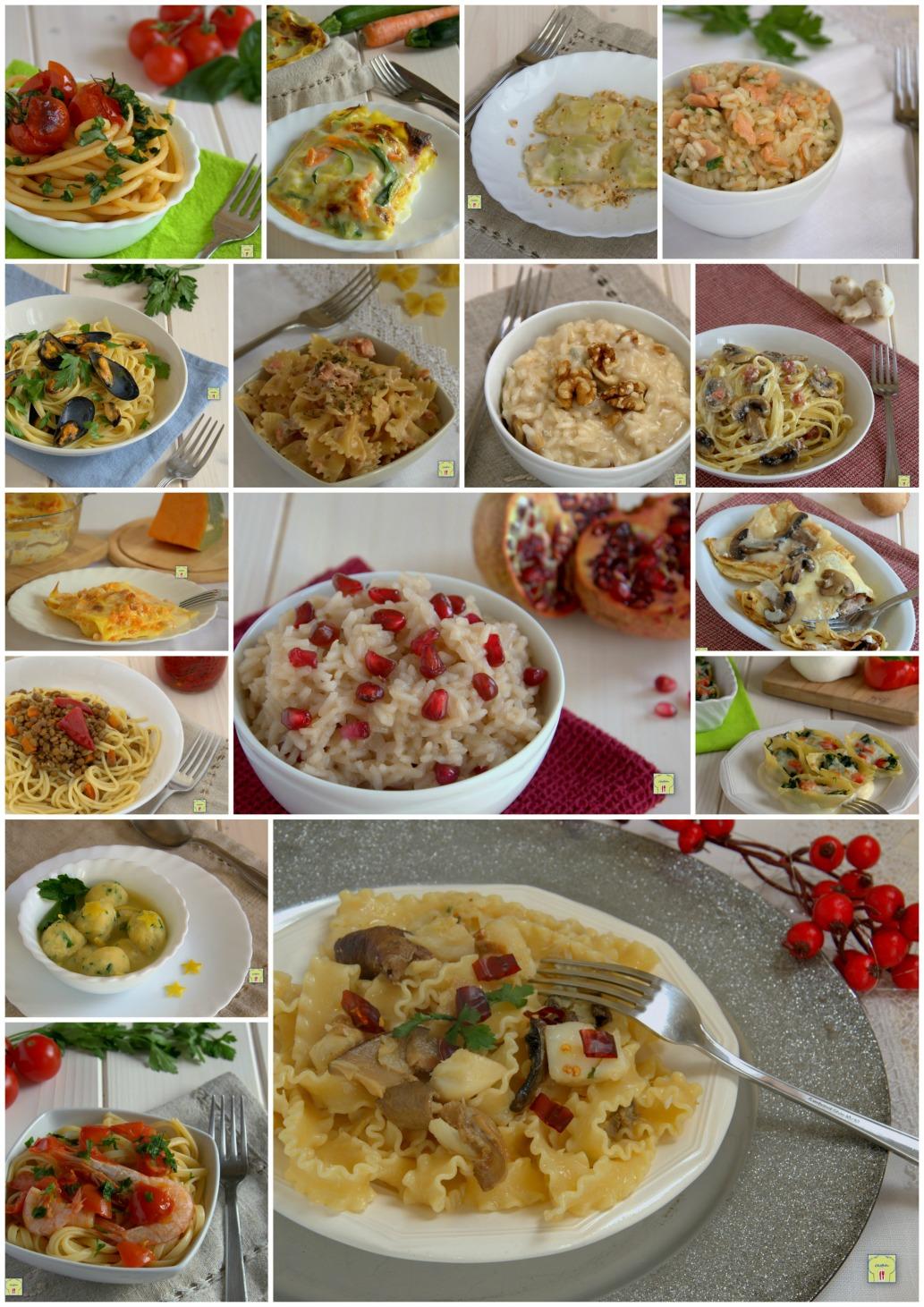 Primi piatti per le feste di natale ricette per tutti i gusti for Ricette per primi piatti