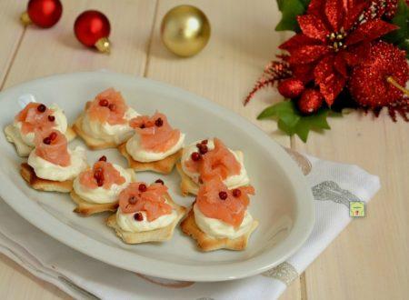 Tartine facili al salmone
