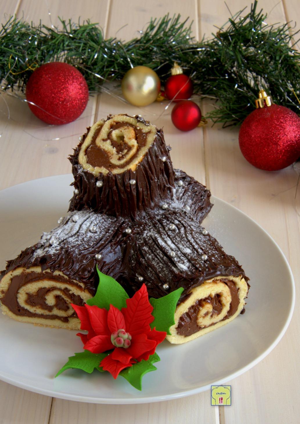 Tronchetto Di Natale.Tronchetto Di Natale Alla Nutella Ricette Di Natale Golose