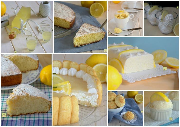migliori ricette dolci col limone