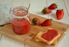 Composta di fragole senza zucchero