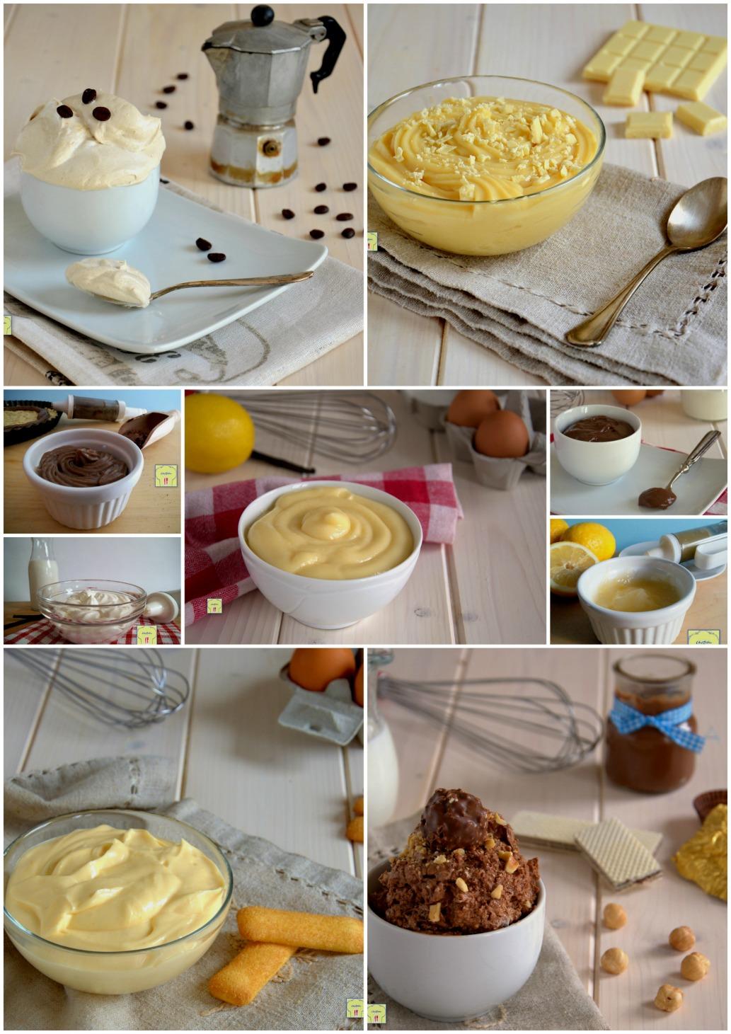 Creme da farcitura per torte raccolta di ricette di creme for Nuove ricette dolci