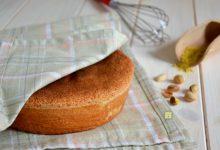 Pan di Spagna al pistacchio