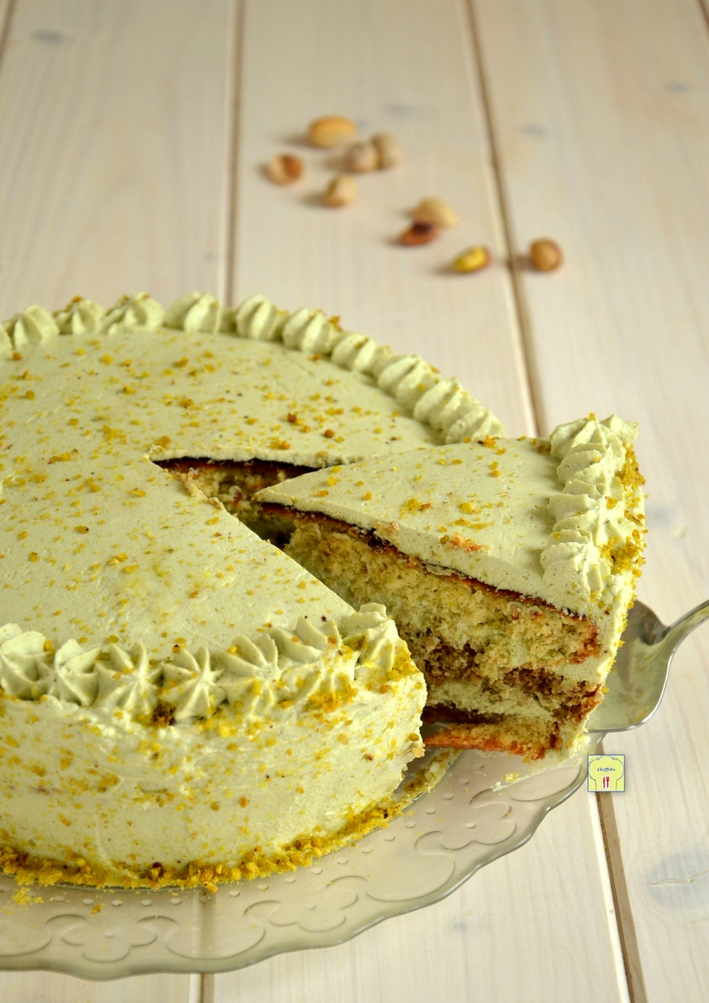 torta tiramisù al pistacchio gp
