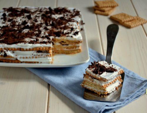Mattonella di biscotti gelato