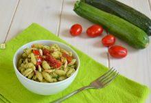 Pasta fredda zucchine e pomodorini