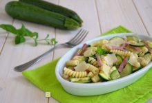 Pasta fredda zucchine e speck