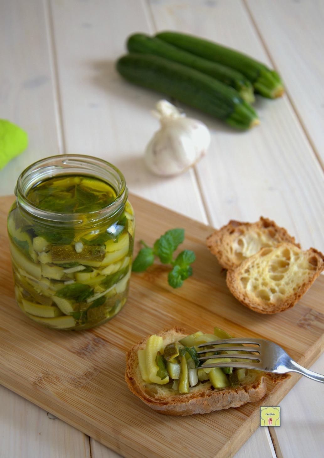 zucchine sottolio gp