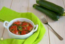 Involtini di zucchine prosciutto e mozzarella