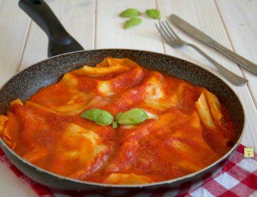 Lasagne in padella