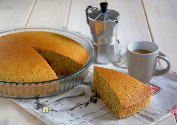 torta semplice al caffè