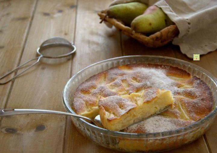torta di pere morbida
