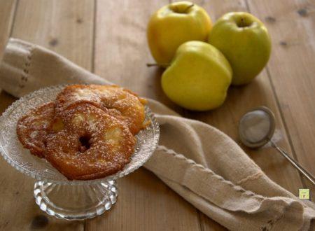 Frittelle di mele senza uova