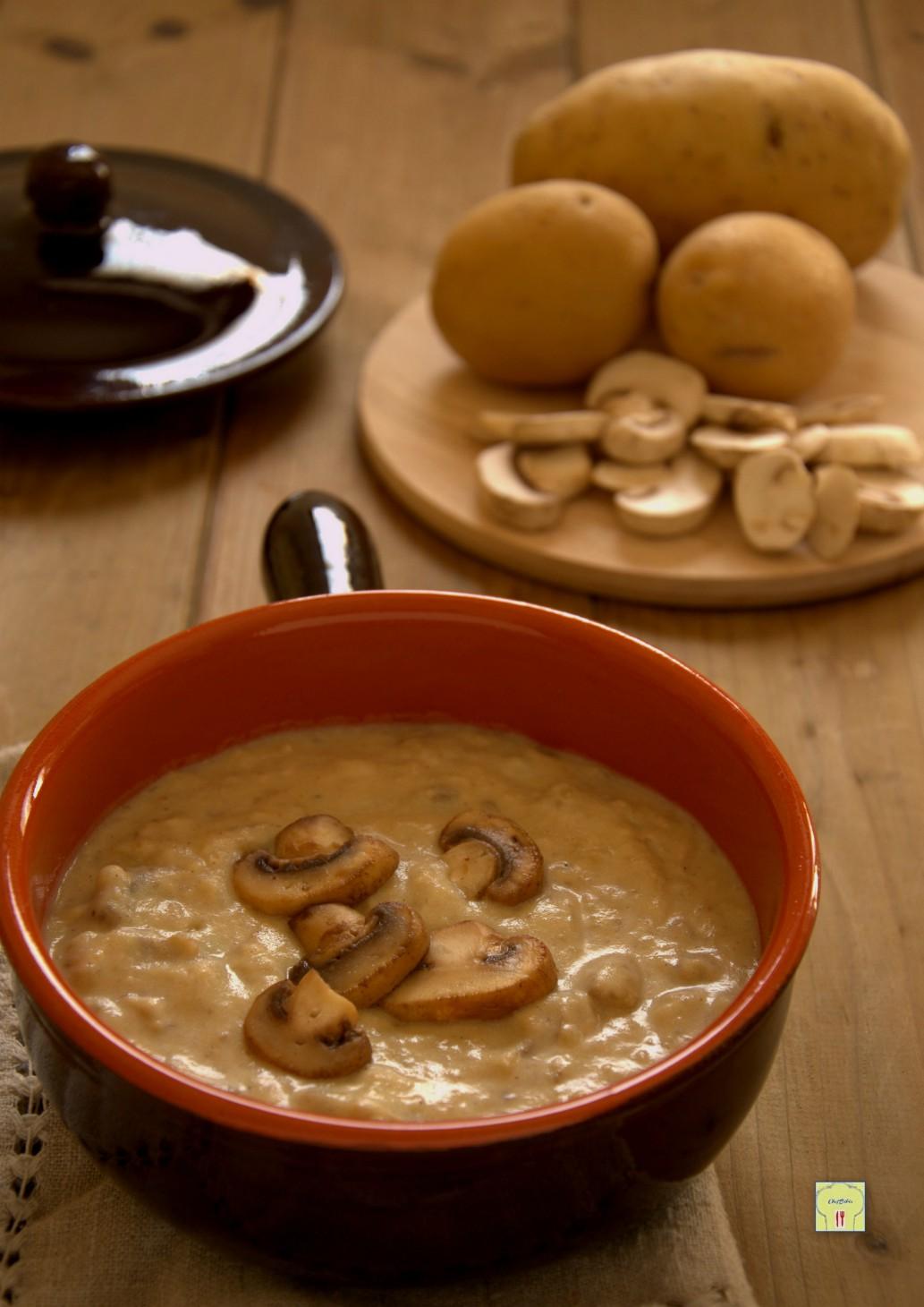 crema di funghi e patate gp