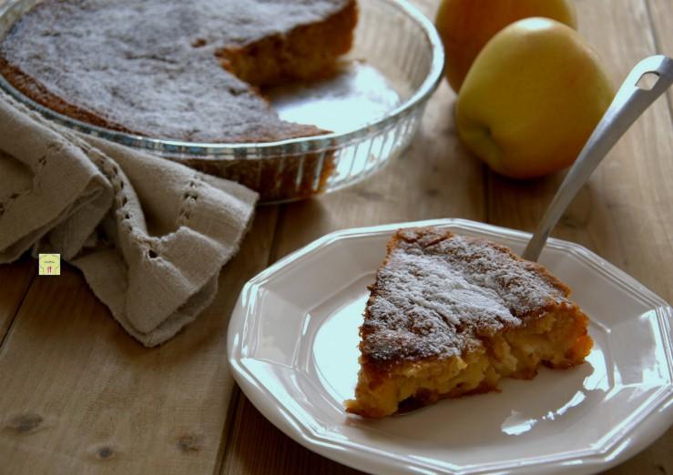 torta di mele veloce col cucchiaio