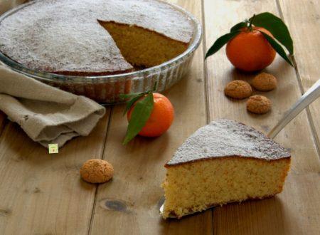 Torta clementine e amaretti