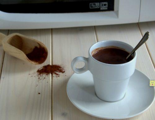 Cioccolata calda al microonde