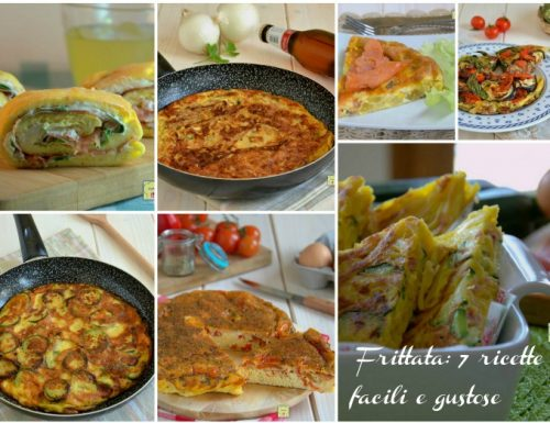 Frittata 7 ricette facili e gustose