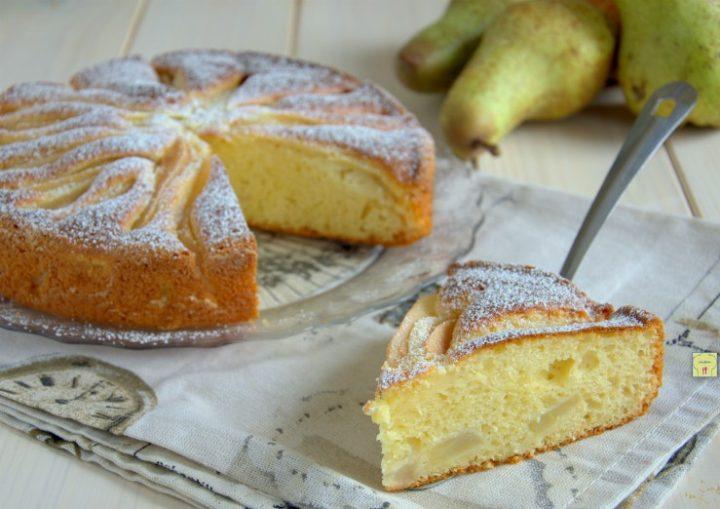 torta di pere e mascarpone