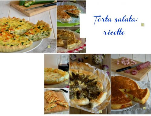 Torta salata: ricette