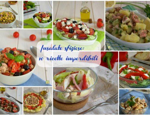 Insalate sfiziose: 10 ricette imperdibili