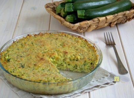 Sformato di zucchine e patate saporito