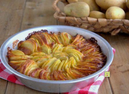 Torta di patate arrostite e scamorza
