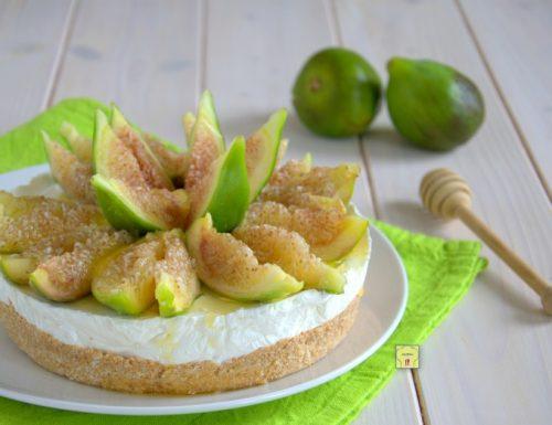 Cheesecake fichi e miele