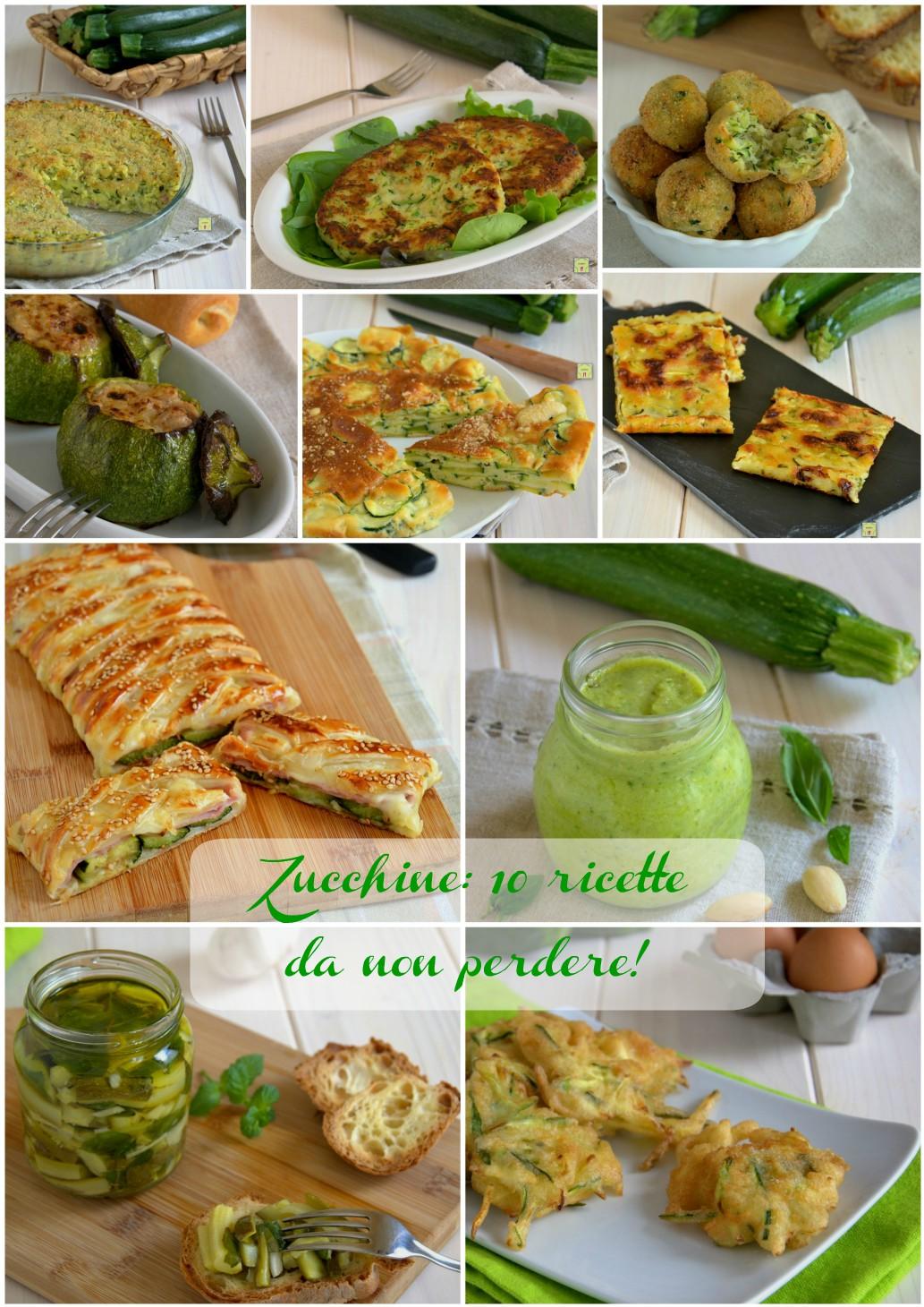 zucchine 10 ricette da non perdere gp