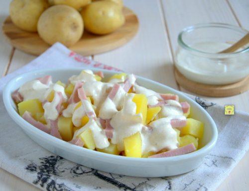 Insalata di patate e prosciutto