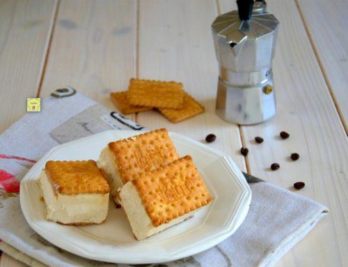 Biscotti gelato al caffè