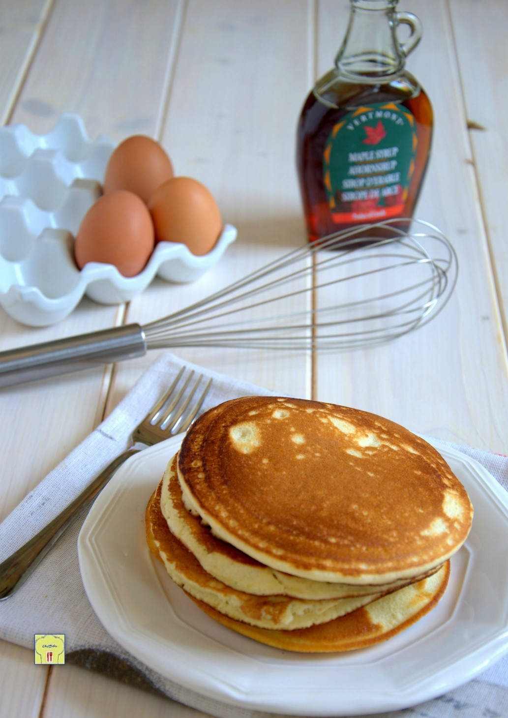 Ricetta Pancake Americani Giallo Zafferano.Pancakes Ricetta Pancakes Soffici Facile E Veloce Senza Burro