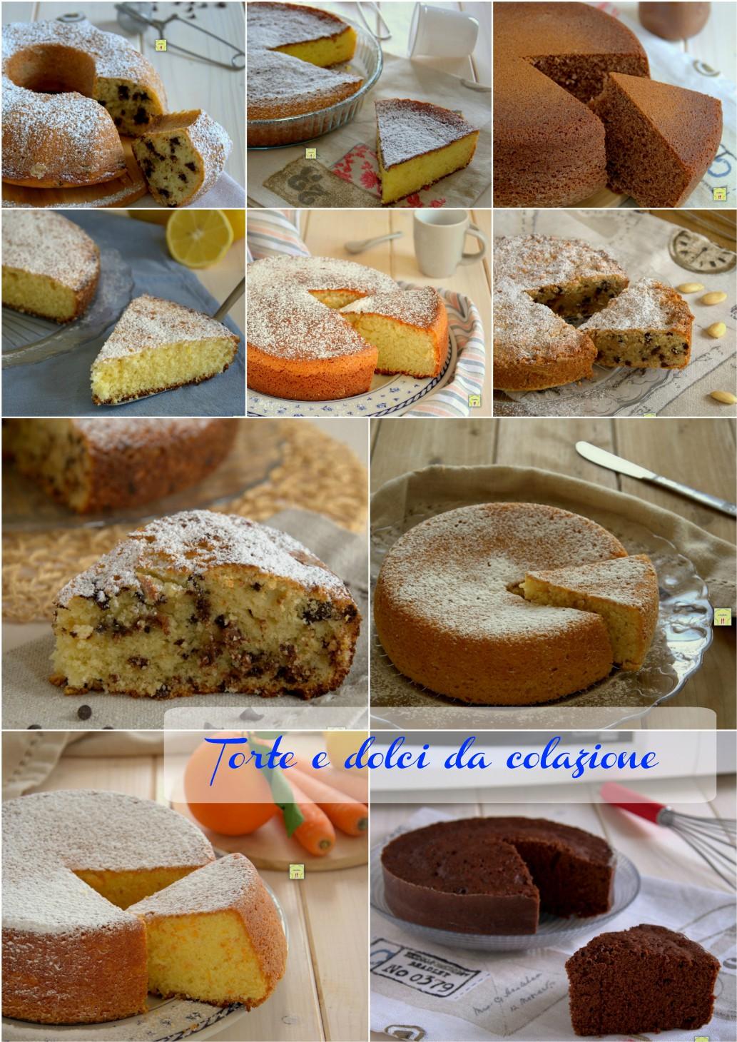 torte e dolci da colazione gp