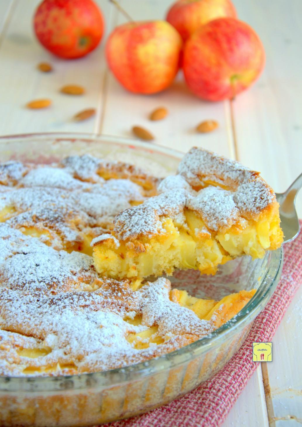 torta di mandorle e mele gp