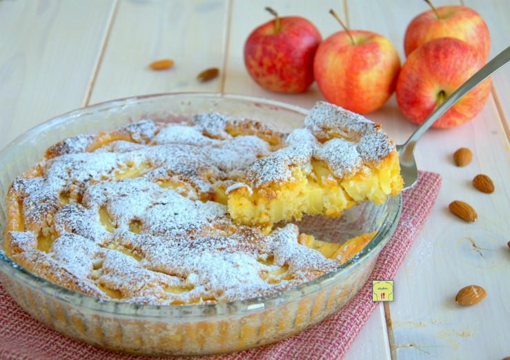 torta di mandorle e mele