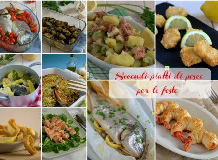Secondi piatti di pesce per le feste