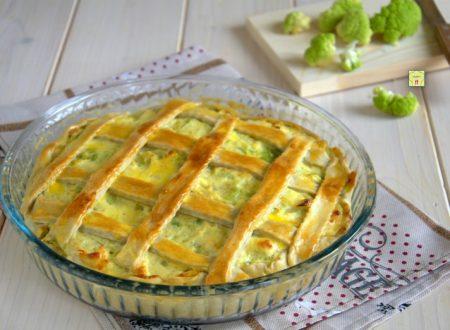 Crostata salata cavoli e ricotta