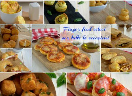 Finger food veloci per tutte le occasioni