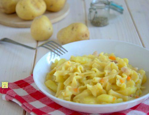 Pasta patate e provola