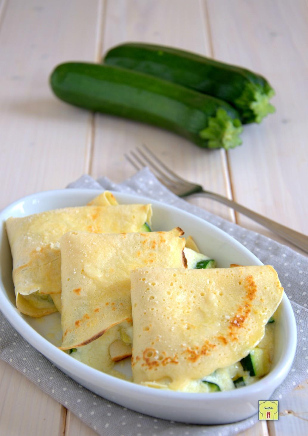 crespelle zucchine e ricotta gp