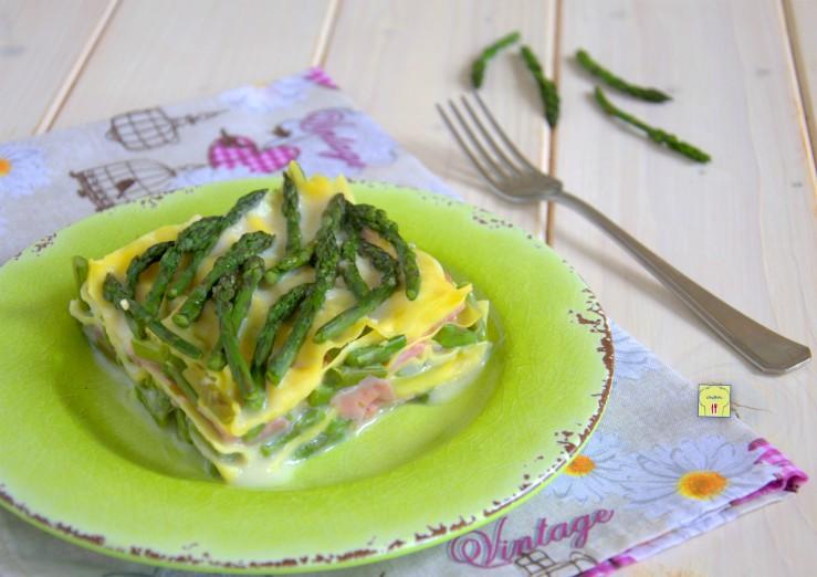 lasagne asparagi e prosciutto