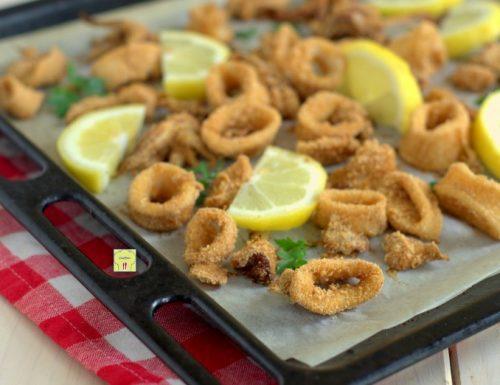 Calamari gratinati al forno