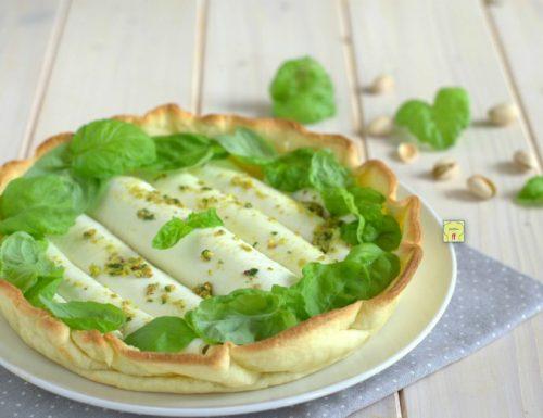 Torta salata con involtini di mozzarella