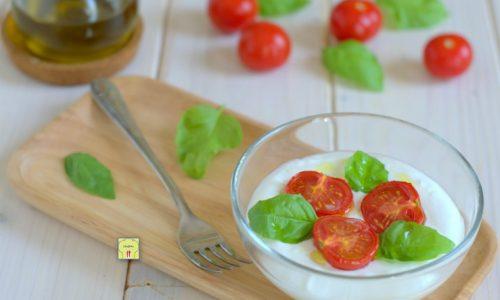 Crema di burrata e pomodorini