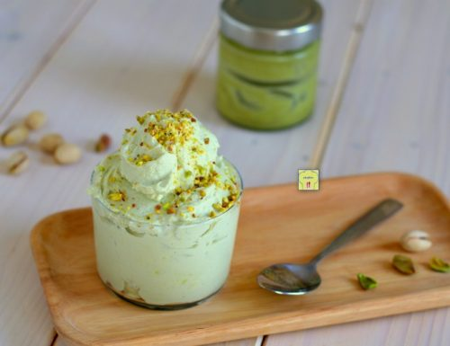 Finto gelato al pistacchio